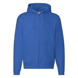 Толстовка PREMIUM HOODED SWEAT JACKET 280, синий